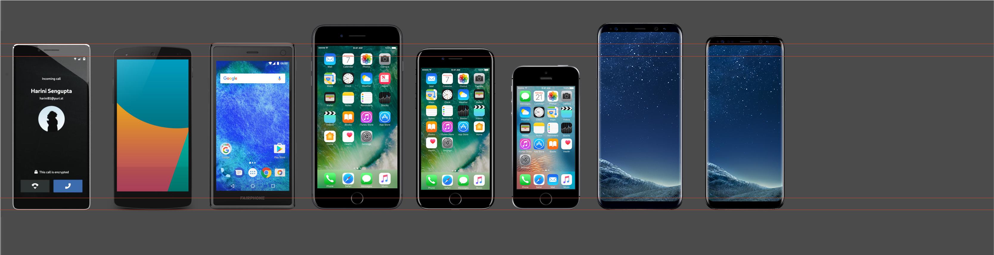 Size comparison to other phones - Phones (Librem 5) - Purism